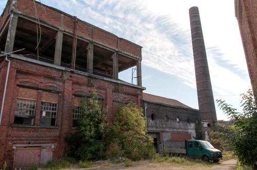 Oudenaarde Dijkstraat 45-47 Technische gebouwen, schoorsteen