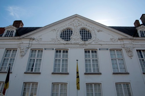 Oudenaarde Bourgondiëstraat 9 Fronton