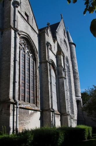 Oudenaarde Pamelekerkplein zonder nummer Zuidgevel van de parochiekerk Onze-Lieve-Vrouw van Pamele