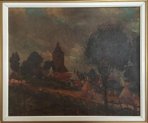 Schilderij De Boever