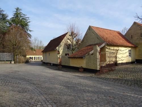 Oudenaarde Mullemstraat dorpsgezicht