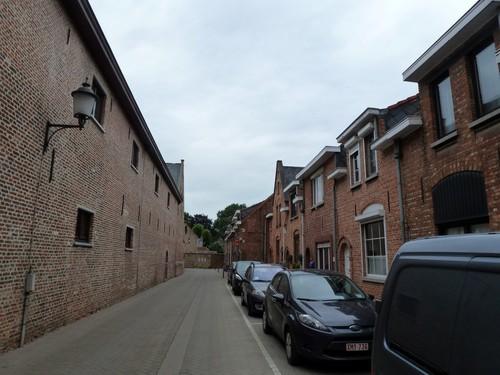 Diest Vestenstraat straatbeeld