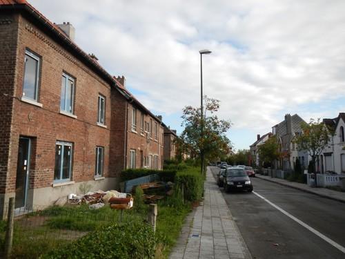 Vilvoorde Olmstraat straatbeeld