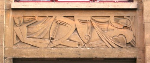 Antwerpen Arenbergstraat 28 relief