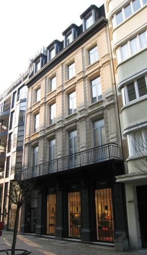 Antwerpen Schuttershofstraat 26 gevel Kelderstraat