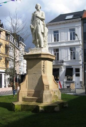Antwerpen Theodoor Van Rijswijckplaats standbeeld