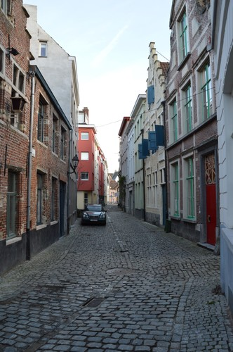 Gent Hertogstraat straatbeeld