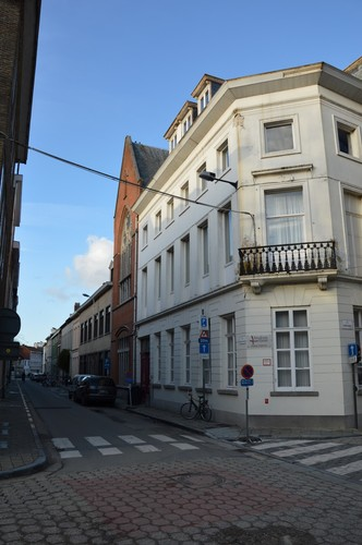 Gent Marialand straatbeeld