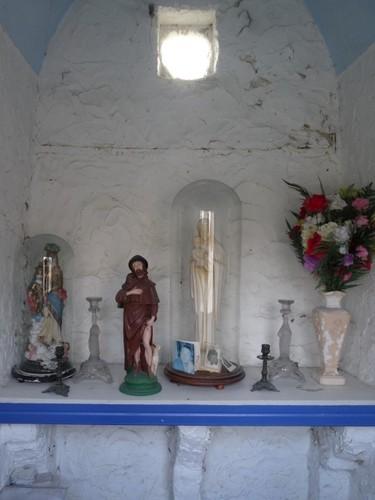 Zwalm Molenberg 4 Interieur van de kapel