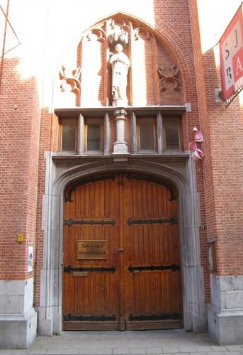 Antwerpen Jodenstraat 11-15 portaal