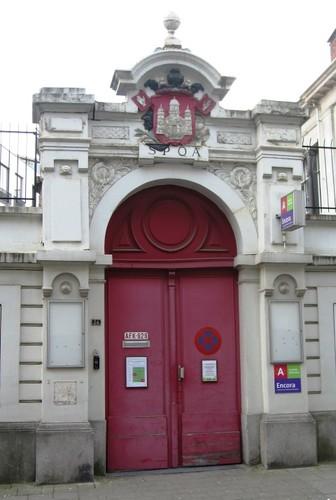 Antwerpen Kipdorpvest 24 poort