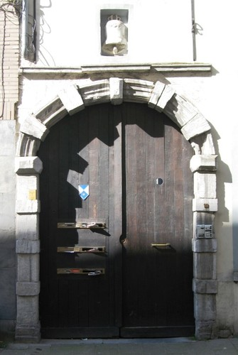 Antwerpen Lange  Noordstraat 19 poort