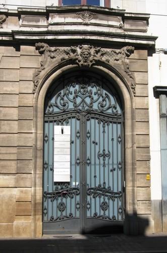 Antwerpen Lange Nieuwstraat 21-23 portaal
