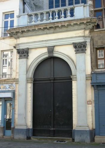 Antwerpen Sint-Jacobsmarkt zijportaal Sint-Jacobskerk