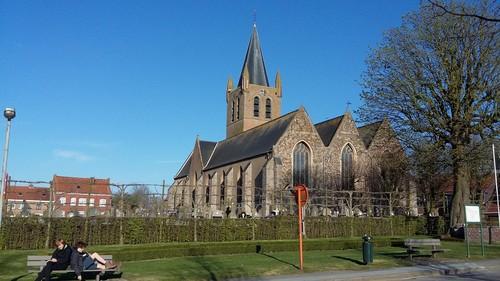 Heuvelland Nieuwkerke Markt 80 parochiekerk Onze-Lieve-Vrouw