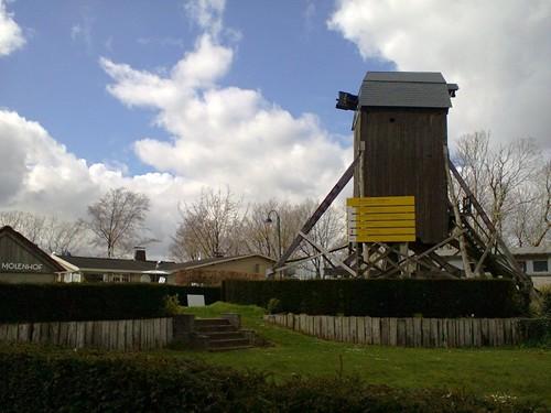Lijstermolendreef molen en molenhuis