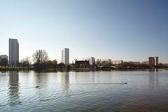 Sociale woonwijk Nationale Watersportbaan Georges Nachez