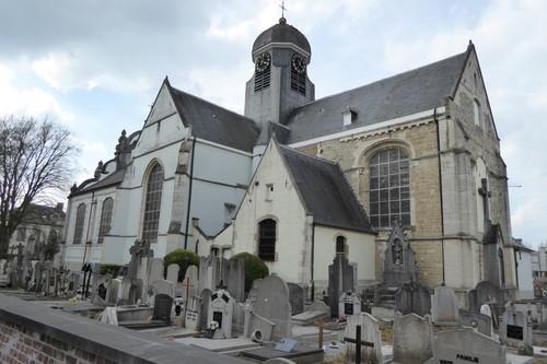 Ninove Meerbeke  Omgeving Parochiekerk Halsesteenweg