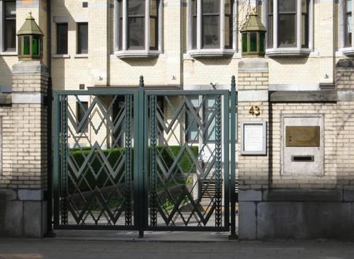 Antwerpen Nationalestraat 155 poort