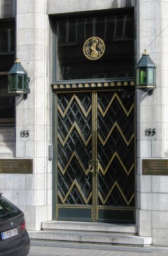 Antwerpen Nationalestraat portaal