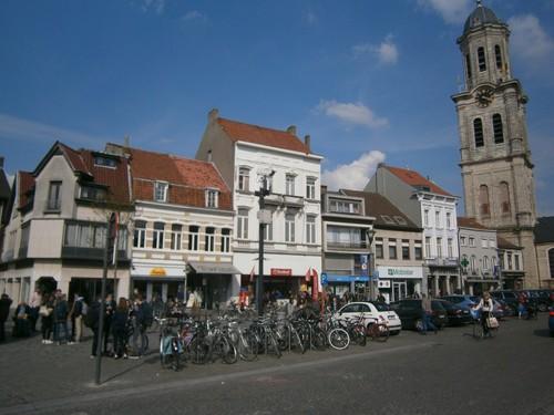Lokeren stadskern - Markt
