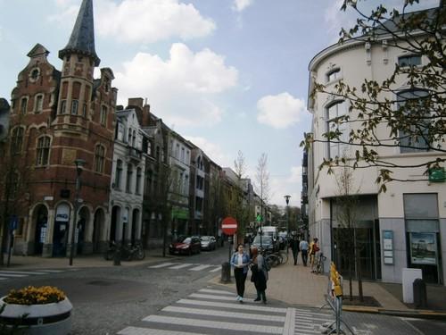 Lokeren stadskern - Stationstraat