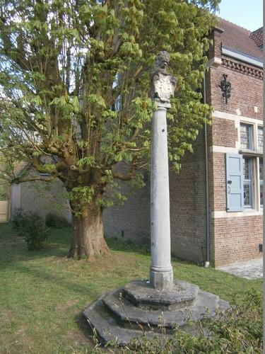 Waasmunster Dorpskom Sombeke - schandpaal Smoorstraat