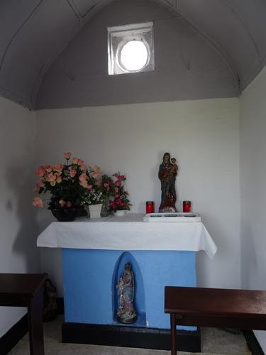 Damme Damweg zonder nummer Interieur van de kapel