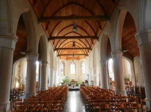 Middelkerke Schorestraat Parochiekerk