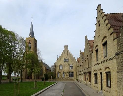 Diksmuide Oostkerke Sint-Veerleplein