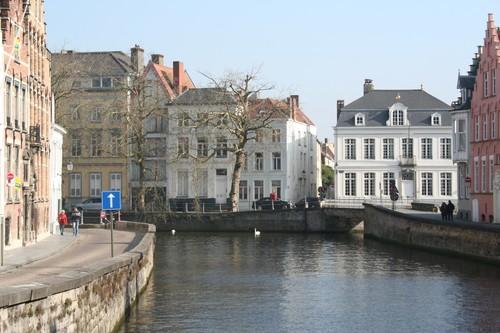 Brugge Spiegelrei, Gouden-Handrei en Sint-Annarei met omgeving
