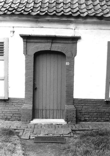 Evergem Doornzele Dries 23 deur