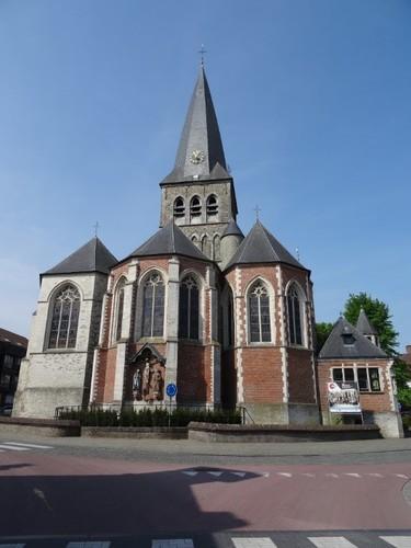 Zomergem Markt zonder nummer Parochiekerk Sint-Martinus
