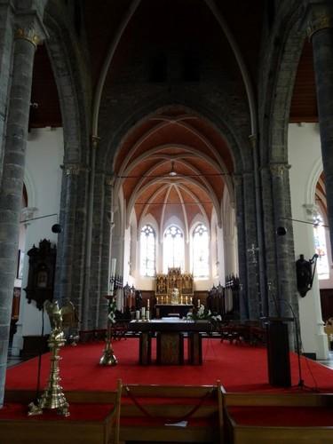 Zomergem Markt zonder nummer Interieur van parochiekerk Sint-Martinus