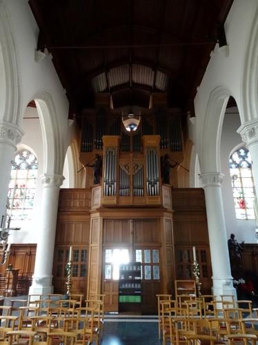 Zomergem Markt zonder nummer Orgel van parochiekerk Sint-Martinus
