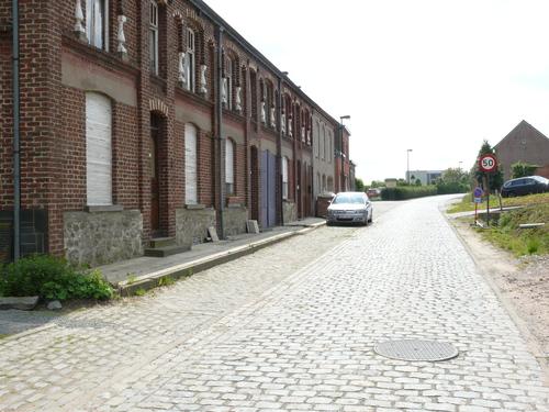 Zottegem Velzeke Lippenhovestraat kasseiweg (3)