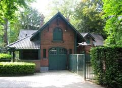 Wachthuis en bergplaats Koning Albertpark