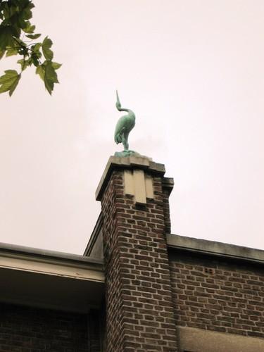 Antwerpen Ter Rivierenlaan 147 ooievaar