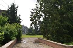 Park van het kasteel van Mombeek