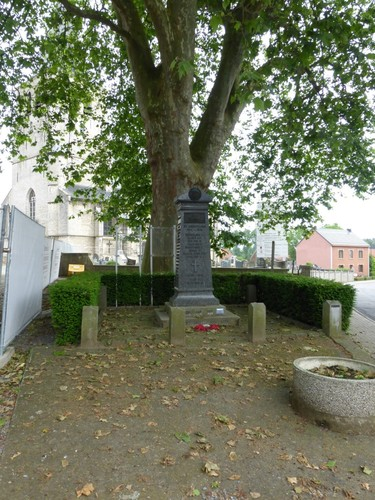 Huldenberg Sint-Agatha-Rode Leuvensebaan dorpsgezicht Oorlogsmonument