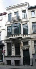 Geheel van winkel- en burgerhuizen in neoclassicistische stijl