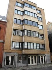 Modernistisch appartementsgebouw
