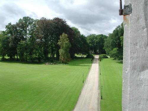 Het kasteelpark Groenendael in Bilzen.