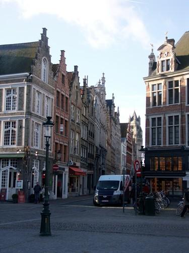 Brugge Zicht naar Steenstraat