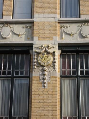 Antwerpen Jan Blockxstraat 11 gevelsteen