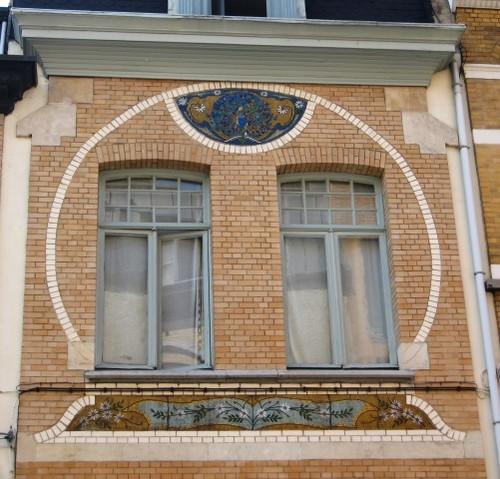 Antwerpen Jan Blockxstraat 8 mozaïeken