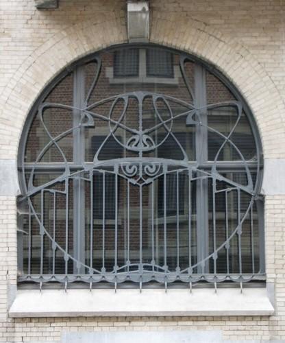 Antwerpen Peter Benoitstraat 34 traliewerk