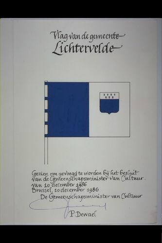 Lichtervelde Vlag
