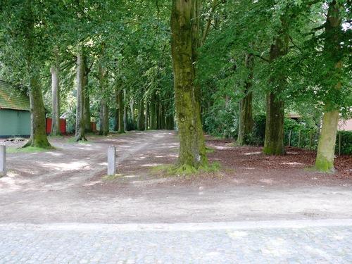 Kruishoutem Lozer Kasteelstraat dubbele beukendreef  (2)