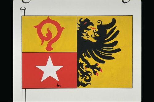 Maasmechelen Vlag